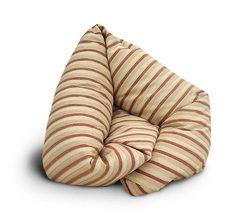 Кресло колбаса Полосатое