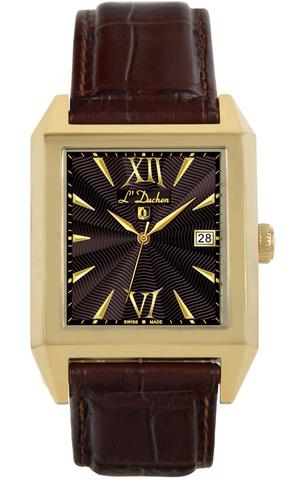 Купить Мужские швейцарские наручные часы L'Duchen D 431.22.18 по доступной цене