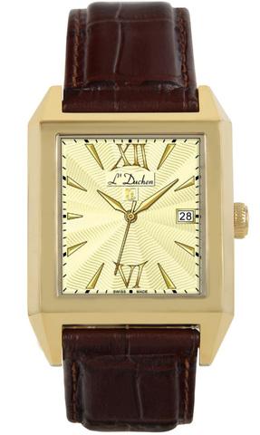 Купить Мужские швейцарские наручные часы L'Duchen D 431.22.14 по доступной цене
