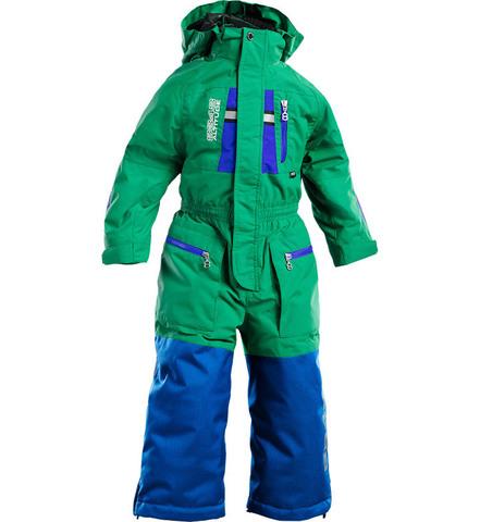Комбинезон горнолыжный 8848 Altitude - Redhorn Green детский