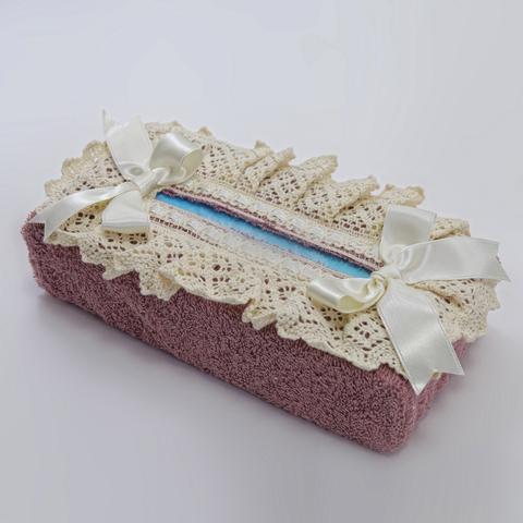 Салфетница для бумажных полотенец Rombetti розовая от Old Florence