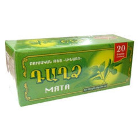 """Чай травяной Мята дикая пакетированный """"LINARO"""" 20х1 гр"""