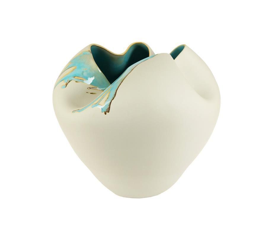 Вазы настольные Элитная ваза декоративная Blotch низкая от S. Bernardo elitnaya-vaza-dekorativnaya-blotch-nizkaya-ot-s-bernardo-portugaliya.jpg