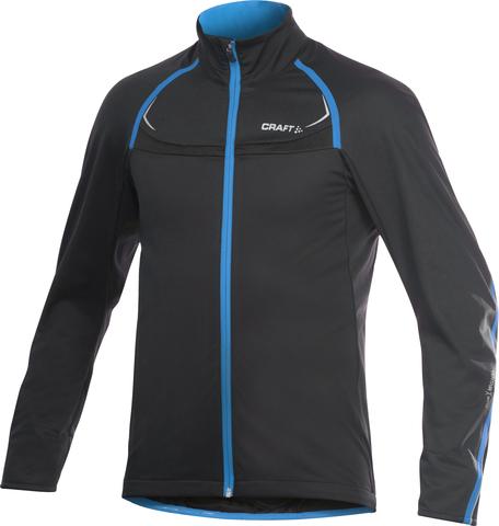 Вело-куртка Craft Stretch мужская черная