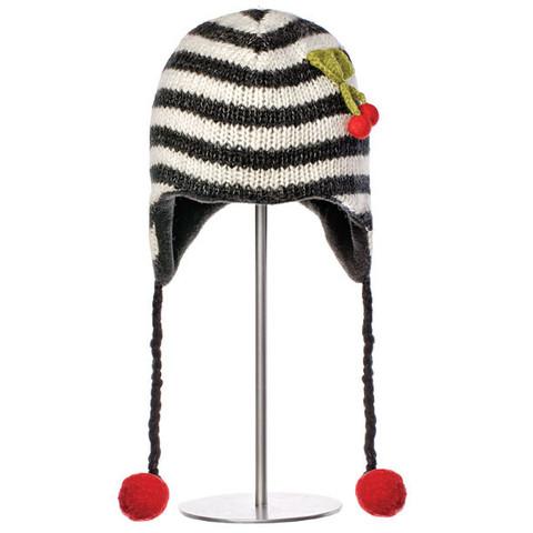 шапка с ушами Knitwits Cherry