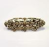 """Основа для броши Quest Beads """"Флорентийская"""" (цвет-античное золото) 47х16 мм"""
