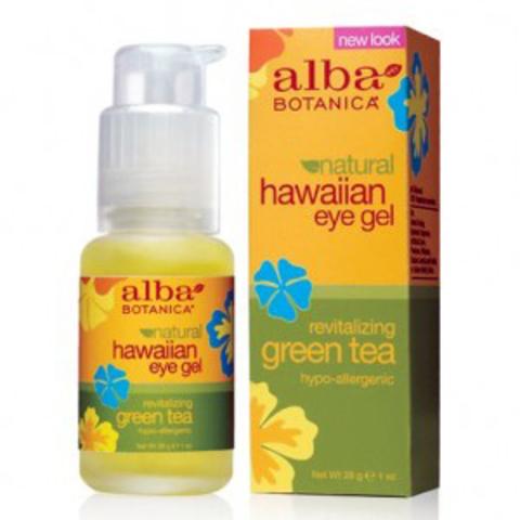 Гель с зеленым чаем для кожи вокруг глаз, Alba Botanica