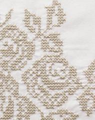 Элитная наволочка декоративная для валика Rose белая от Luxberry