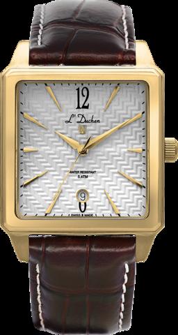 Купить Мужские швейцарские наручные часы L'Duchen D 451.22.23 по доступной цене