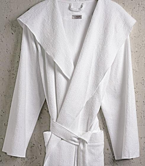 Элитный халат хлопковый Meyzer белый от Hamam