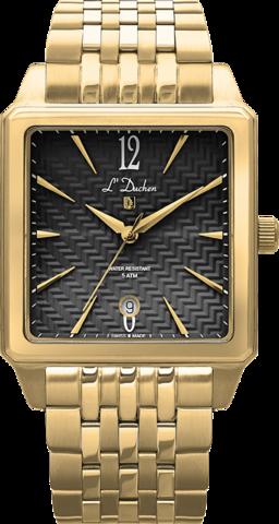 Купить Мужские швейцарские наручные часы L'Duchen D 451.20.21 по доступной цене