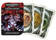 Psychic Cards: Chaos Daemons