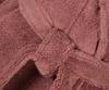 Элитный халат махровый Hanim&Sultan бордовый от Hamam