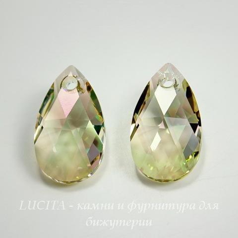 6106 Подвеска Сваровски Капля Crystal Luminous Green (28  мм) ()