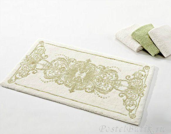 Элитный коврик для ванной Palacio 162 зеленый от Abyss & Habidecor