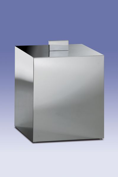 Ведра для мусора Ведро для мусора с крышкой Windisch 89139CR Metal korzina-dlya-musora-s-kryshkoy-89139-metal-ot-windisch-ispaniya.jpg