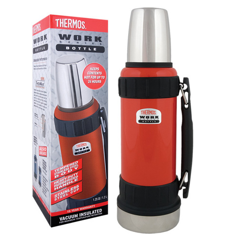 Термос из нержавеющей стали 2520 Work Bottle Red 1,2L в подарочной упаковке. (Thermos)