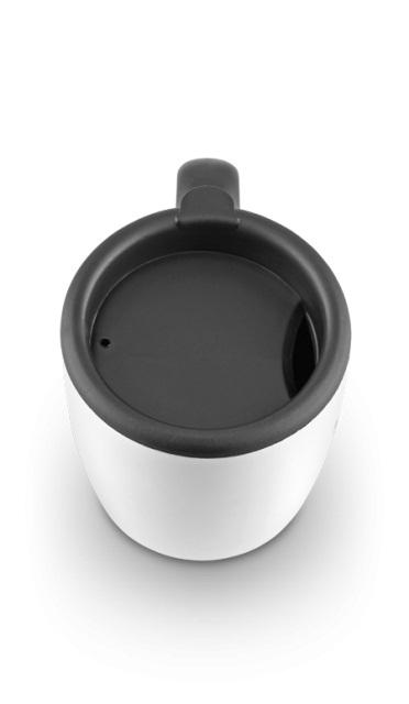 Термокружка La Playa DFD 2040 (0,45 литра) белая