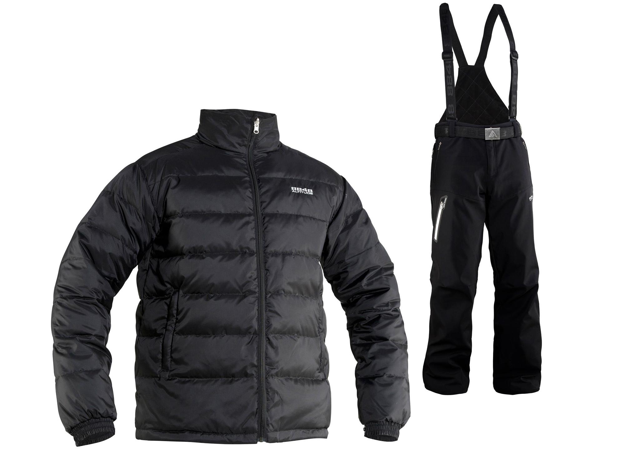 Зимний костюм 8848 Altitude парка Bruson/Kers мужской White