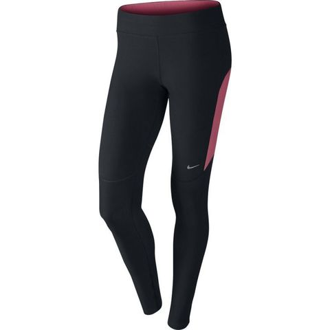 Тайтсы Nike Filament Tight (W) чёрно-розовые