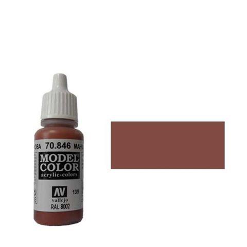 139. Краска Model Color Махагон 846 (Mahogany Brown) укрывистый, 17мл