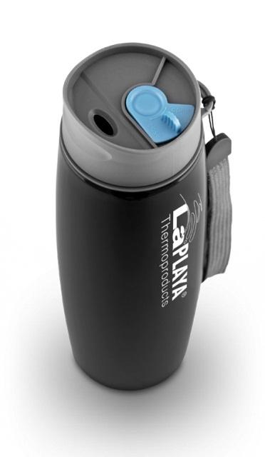 Термокружка La Playa Thermo Mug SS Strap (0.5 литра) черная