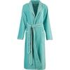 Элитный халат велюровый 4321 бирюзовый от Cawo