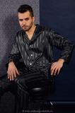 Атласная мужская пижама B&B