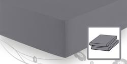 На резинке Простыня трикотажная 90-110x200 Elegante 8000 серая elitnaya-prostinya-na-rezinke-antratsit-93-ot-elegante-germaniya.jpg