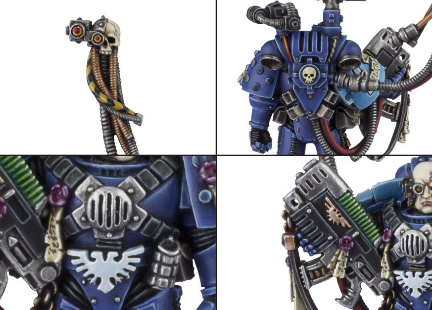 Space Marine Captain: Master of Relics