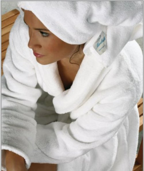 Элитный халат махровый Microcoton от Mirabello