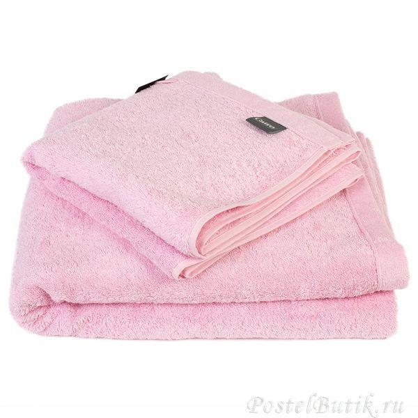 Полотенце 50x100 Cawo Life Style 7007 Uni светло-розовое