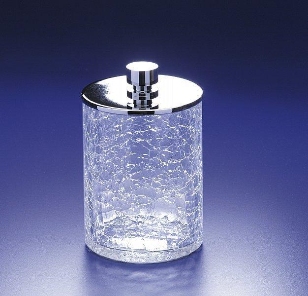 Емкость для косметики большая 88126CR Cracked Crystal от Windisch