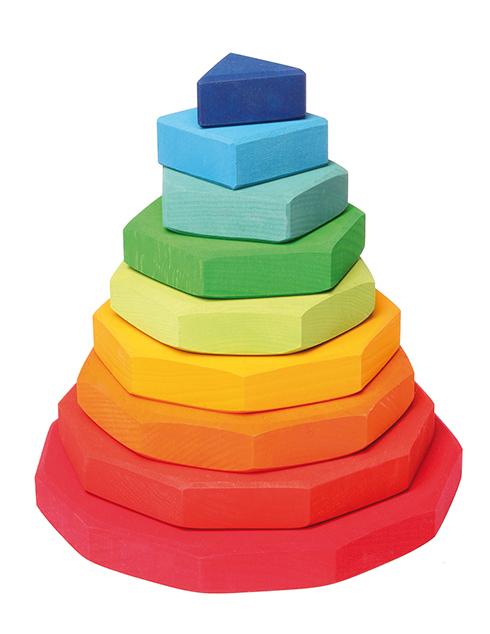 Пирамида геометрическая 9 элементов (Grimm's)