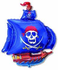 Пиратский корабль (синий) 14