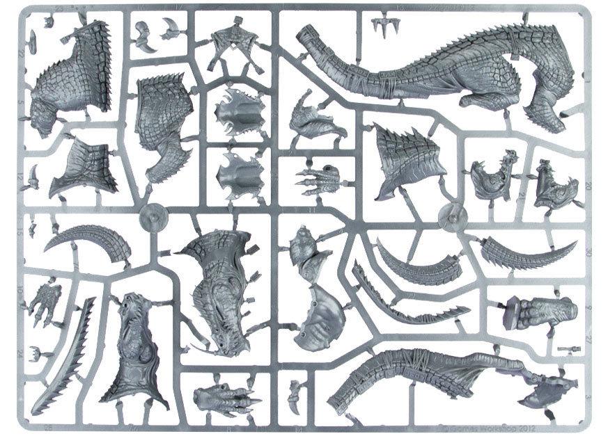 Lizardmen Carnosaur/Troglodon