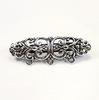 "Основа для броши Quest Beads ""Флорентийская"" (цвет-античное серебро) 47х16 мм"