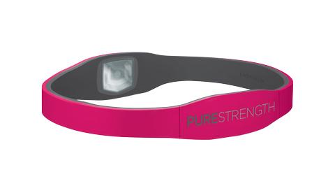 Браслет PURE серии LifeStrength розовый/серый