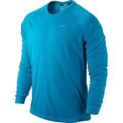 Мужская беговая футболка Nike Miler LS UV Top (519700 418)