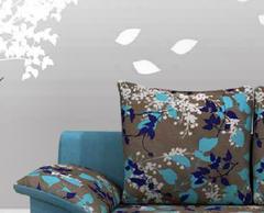Подушка диванная квадратная Ботаника