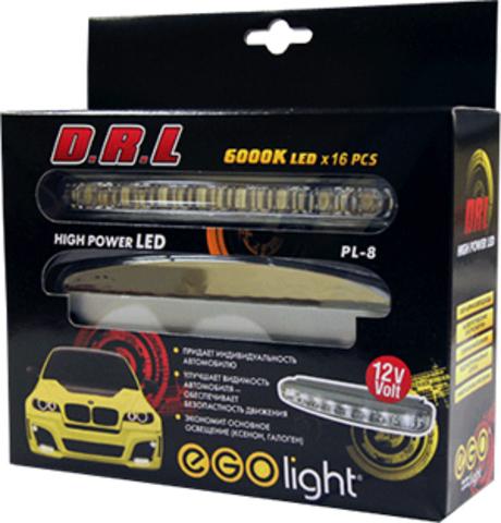 Фары дневного света светодиодные EGO Light PL-8