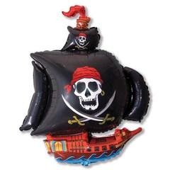 Пиратский корабль (черный) 14