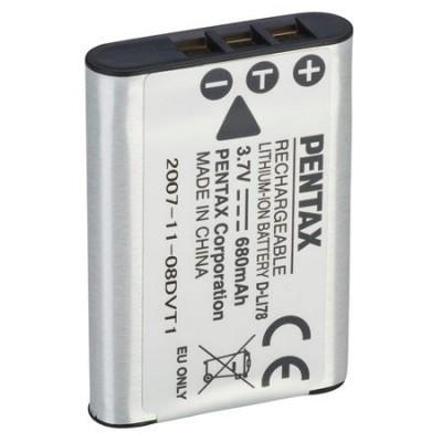 Аккумулятор Pentax D-LI78 Батарея для цифровых фотоаппаратов Пентакс Optio M50, Optio M60, Optio V20, Optio W60, Optio W80, Optio L50, Optio S1