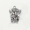 "Подвеска Quest Beads ""Два ангела"" (цвет-античное серебро) 22х14 мм"