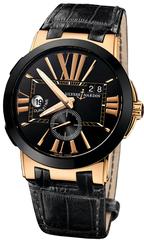 Наручные золотые часы Ulysse Nardin 246-00-42 Executive Dual Time