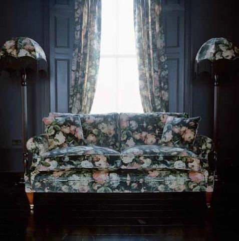 Элитная наволочка декоративная шенилловая Midnight Garden 10 schwarz от Feiler