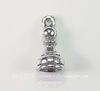 """Подвеска Quest Beads в виде шахматной фигуры """"Пешка"""" 3D (цвет-античное серебро) 15х7 мм"""