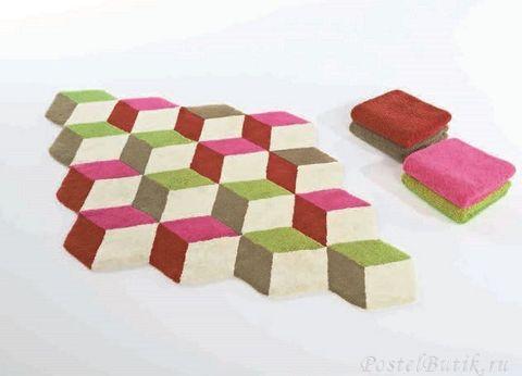 Элитный коврик для ванной Cubic от Abyss & Habidecor