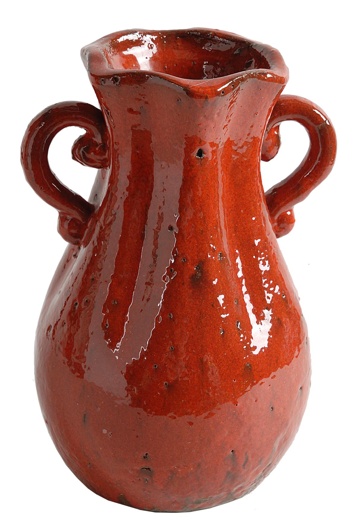 Вазы настольные Ваза декоративная Evergreen 67279-RED vaza-dekorativnaya-67279-red-ot-evergreen-niderlandy.jpg