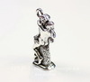 "Подвеска Quest Beads ""Поцелуй"" 3D (цвет-античное серебро) 23х12 мм"